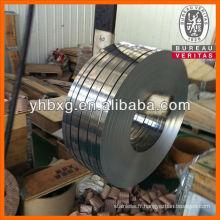 317L précision lumineuse bande d'acier de haute qualité
