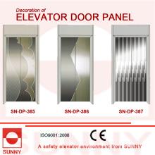 St. St gravant le panneau de porte pour la décoration de carlingue d'ascenseur (SN-DP-385)