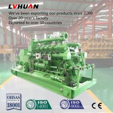 Ferme et résidus utilisant le CE Générateur électrique de biogaz d'énergie verte approuvé d'énergie verte