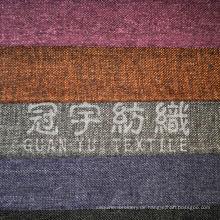 Imitation Oxford Polyester Leinenstoff für Polstertuch
