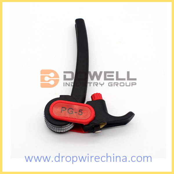 PG-5 Ratchet Cable Stripper DW-PG-5