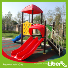 Playground Fabricant Liben matériel de terrain de jeux en plastique à vendre