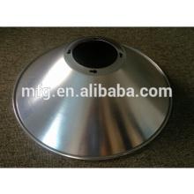 OEM de alta precisión de dibujo profundo y perforación de metal / aluminio lámpara LED ShadeParts