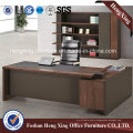 Modern Office Table Black Oak Wooden Desk Office Furniture (HX-6M133)