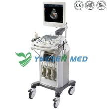 Ysb-Q3 Medical 3D-Wagen Ultraschallgerät Farbdoppler