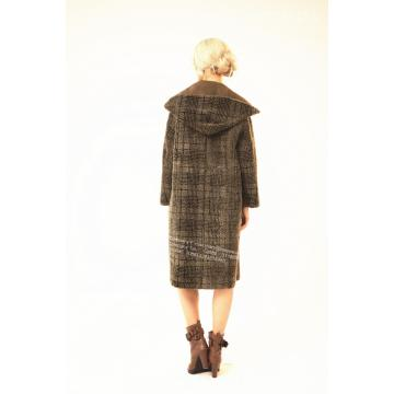 Reversible Spain Merino Shearling Coat