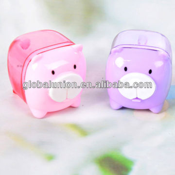 High quality pencil sharpener pig design