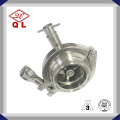 DIN Stainless Steel Sanitary Natural Gas and Medical Non Return Quick Connect Check Valve 6 Inch