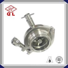 Válvula de retenção roscada com válvula de retenção com dreno