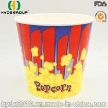 Taza desechable de papel de palomitas de maíz de pared simple de 32 oz (HDP-0111-1)
