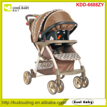 Manufacturer new modern baby stroller 2 to 1 adjustable handle height baby stroller with carseat