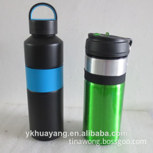 BPA free double wall insulated stainless steel water bottle 600ml with color paint