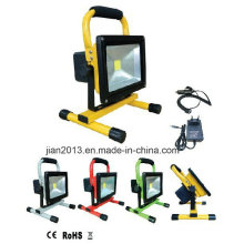 20W 12hours 8800mAh Cool White Rechargeable LED Floodlight