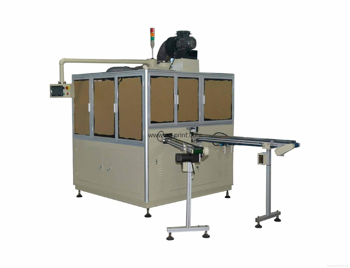 Flat uv screen printer