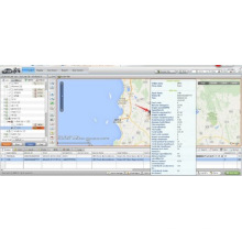 Флот GPS управления программным обеспечением системы онлайн платформы GPS трекер с одометра, данные БД (TS05-кВт)