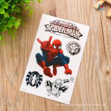 O costume imprimiu a etiqueta material da etiqueta do PVC da forma animal do logotipo dos desenhos animados 3D para crianças