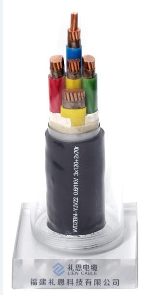 low smoke halogen free FR power cables