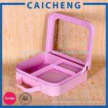 Exquisite klare Kunststoffkarton Koffer Baby Geschenkbox