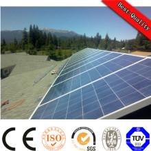 Installation facile et portable sur un système d'alimentation solaire à grille et à grille