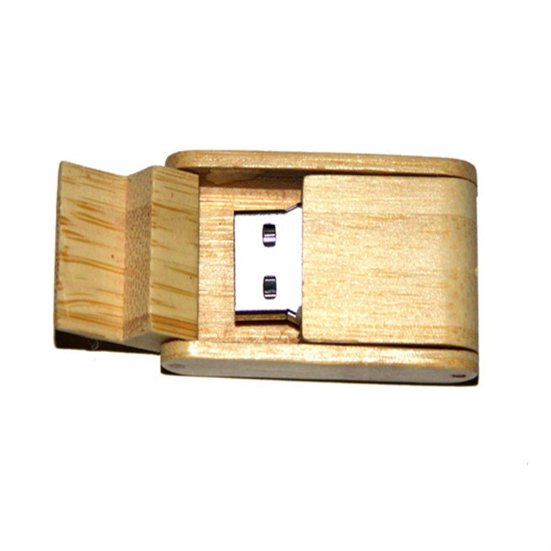 Swivel Wood USB