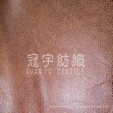 Compuesto de cuero del sofá tela cepillada detrás para el hogar