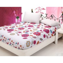 Fitted Sheet/Bedding Sheet/Pongee/Microfiber/Printed Fabric