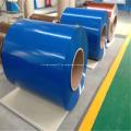 Rollo de bobina de chapa recubierta de polvo de aluminio azul