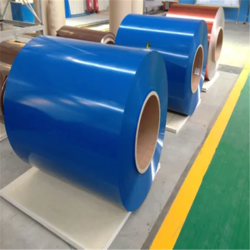Blue aluminum color powder coated sheet coil roll