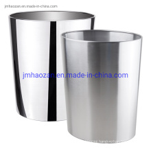 High Quality Stainless Steel Confetti Trash Bins Without Lid, Dustbin