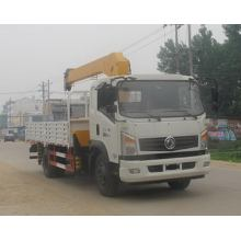 Dongfeng 4X2 3.2Tons Small Truck Mounted Crane