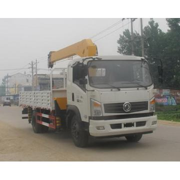 Dongfeng 4X2 3.2Tons Crane Truck Mounted Kecil