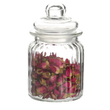 Food Grade Clear Glass Canister