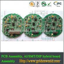 Montaje de fabricación de PCB Montaje de PCB para solución de iluminación para iluminación ascendente en muchas aplicaciones Montaje de PCBA