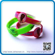 Custom 1 Inch Silicone Wristbands (HN-SE-044)