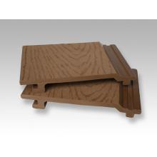 Al aire libre compuesto madera revestimiento revestimientos