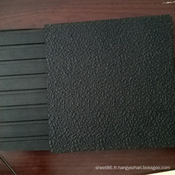 Motif de la corrosion et Gruves Back Horse Stable Mat Tapis de vache