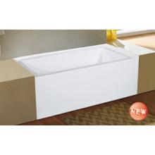 High Quality Simple Apron Built-in Bathtub (WTM-02845)