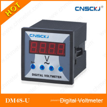 Dm48-U Single Phase Digital Voltmeter