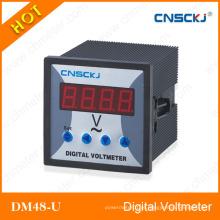 Dm48-U Voltímetros digitais de fase única 48 * 48