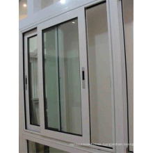 Hot Seller Double Tempered Glass Aluminum Sliding Window