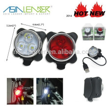 Hot sale 3 SMD usb bike light