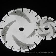 Neupreis galvanisch beschichtetes Siliziumkarbid-Schneidmesser
