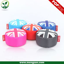European Union Jack flag round stool england flag bean bag