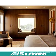 Caminhada modular do revestimento da melamina de Calssic no armário do Wardrobe com gavetas (AIS-W330)