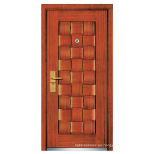 Puerta de madera de acero (FXGM-A104)