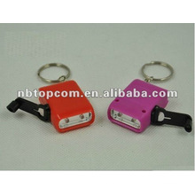 Compare Mini hand crank dynamo led keychain light promotion led gift