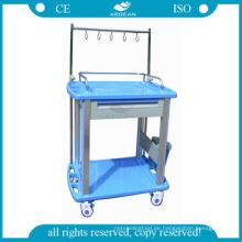 AG-IT002A3 genehmigt ABS medizinische Injektion Krankenhaus Wäschewagen
