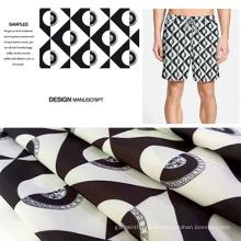 Abstrakte digitale gedruckten Strandshorts / Casual Kleidung Stoff