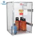tuffcage foldable galvanised gas bottle cylinder secure goods storage cage