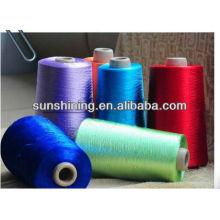 dyed rayon filament yarn